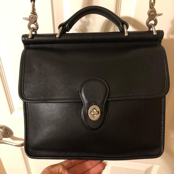 044b573ce0 Coach Handbags - Vintage Coach Willis Bag 9927